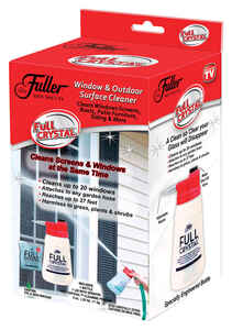 Fuller Brush  As Seen On TV  No Scent Glass Cleaner  4 oz. Powder