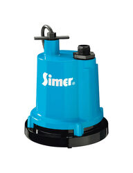 Simer  1/4 hp 1320 gph Aluminum  Electronic Switch  AC  Utility Pump