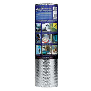 Reflectix  10 in. W x 24 ft. L R-3.7 to R-21  Reflective  Insulation  Roll  20 sq. ft.