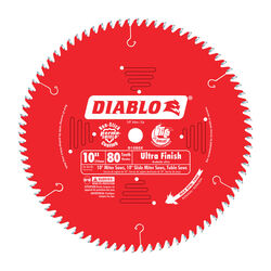 Diablo  10 in. Dia. x 5/8 in.  Carbide Tip  Circular Saw Blade  80 teeth 1 pk
