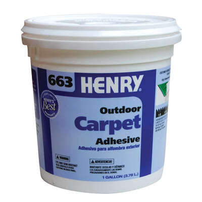Henry 663 Outdoor Carpet High Strength Paste Adhesive 1 gal.
