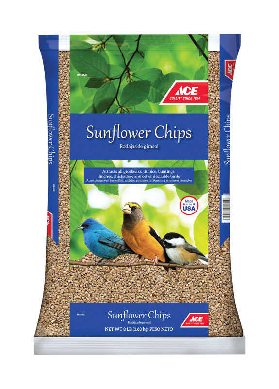 Ace  Assorted Species  Sunflower Chips  Sunflower Chips  8 lb.