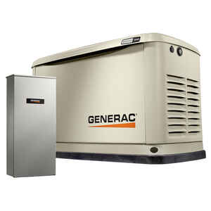 Generac  Guardian  18000 watts White  Generator