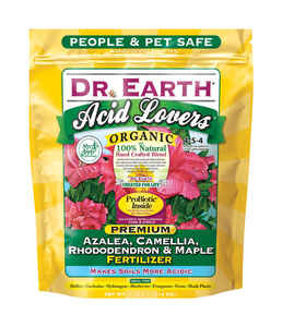 Dr. Earth  Acid Lovers  Granules  Organic Flower Care  4 lb.