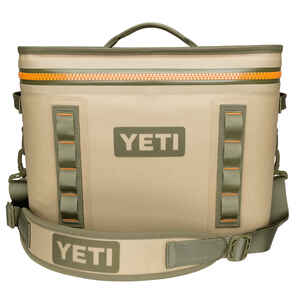 YETI  Hopper Flip 18  Cooler Bag  Blaze Orange/Field Tan