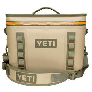 YETI  Hopper  Cooler  18  1 pk Tan