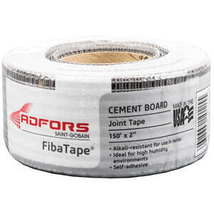 Saint-Gobain ADFORS  Fibatape  150 ft. L x 2 in. W Fiberglass  Self Adhesive Cement Board Joint Tape