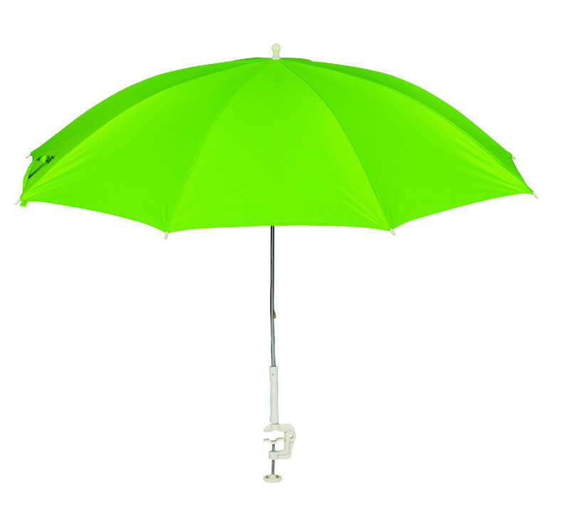Living Accents  Clamp-On  4 ft. Assorted  Beach Umbrella