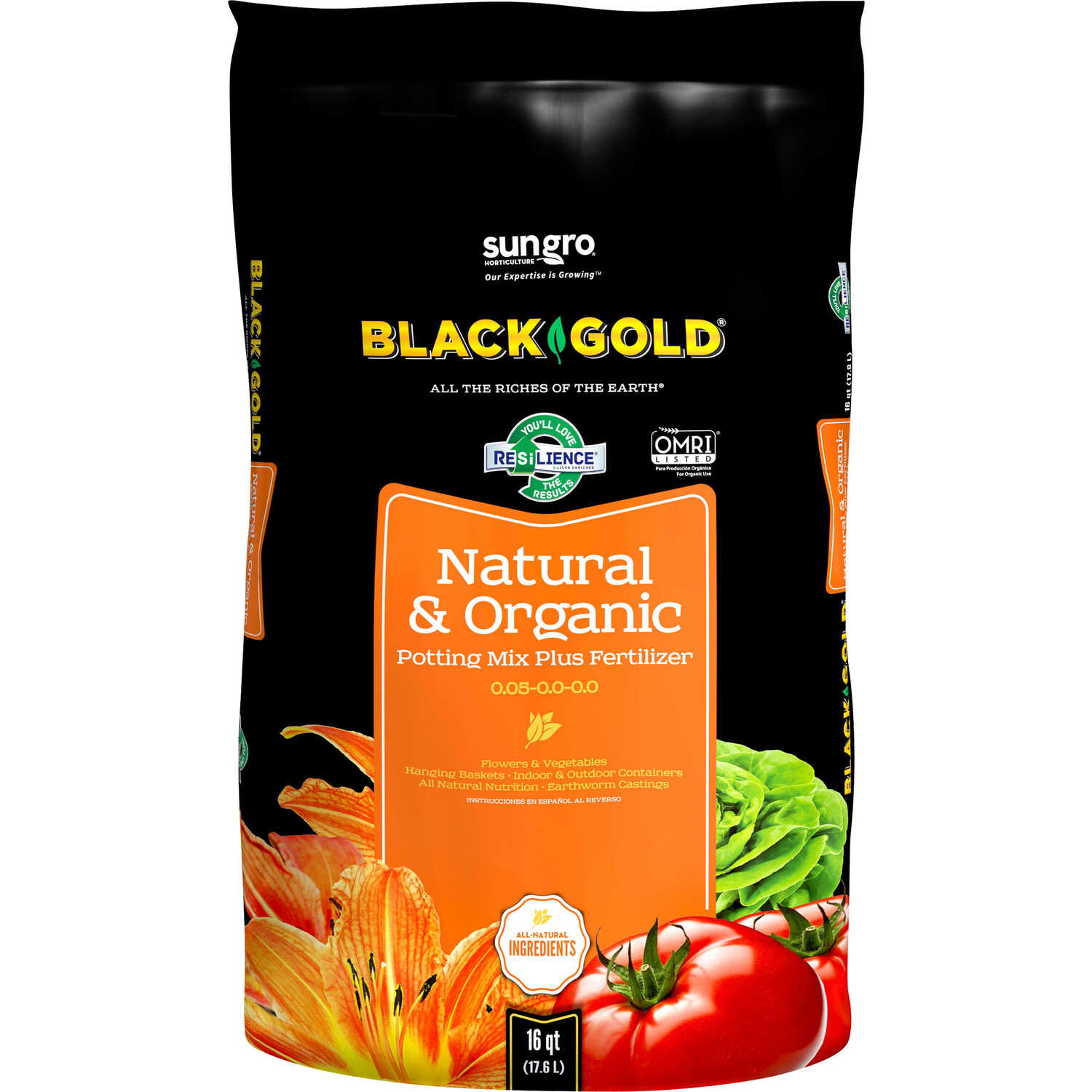 Black Gold Natural Organic Potting Soil Ace Hardware Home Gt Appliances Rv Appliance Circuit Boards