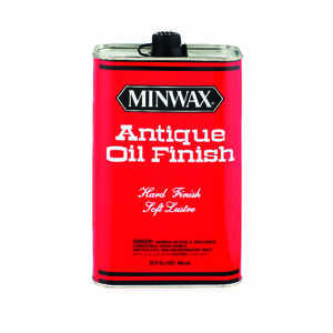 Minwax  Transparent  Amber  Oil-Based  Antique Oil Finish  1 qt.