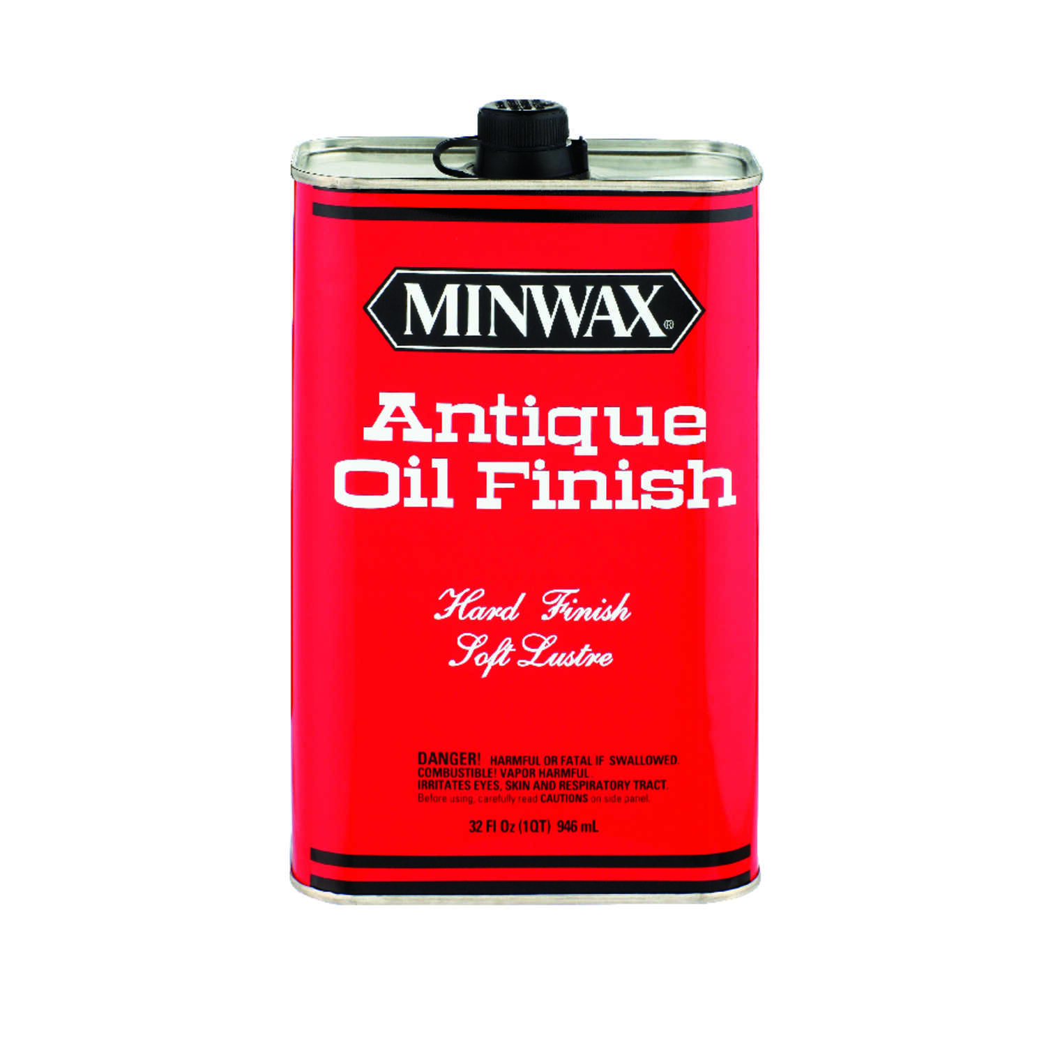 Minwax  Transparent  Oil-Based  Satin  Oil-Based  1 pt. Antique Oil Finish  Amber  Clear