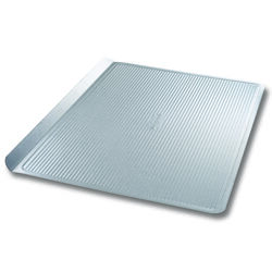 USA Pan 12-1/4 in. W x 17 in. L Cookie Sheet Silver 1 pk
