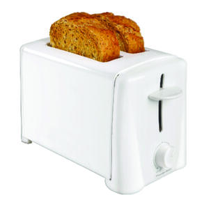 Proctor Silex  White  2 Slice  Toaster  7.75 in. H x 6.5 in. W x 11.38 in. D