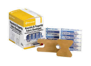First Aid Only  Knuckle and Fingertip Bandages  50 pk