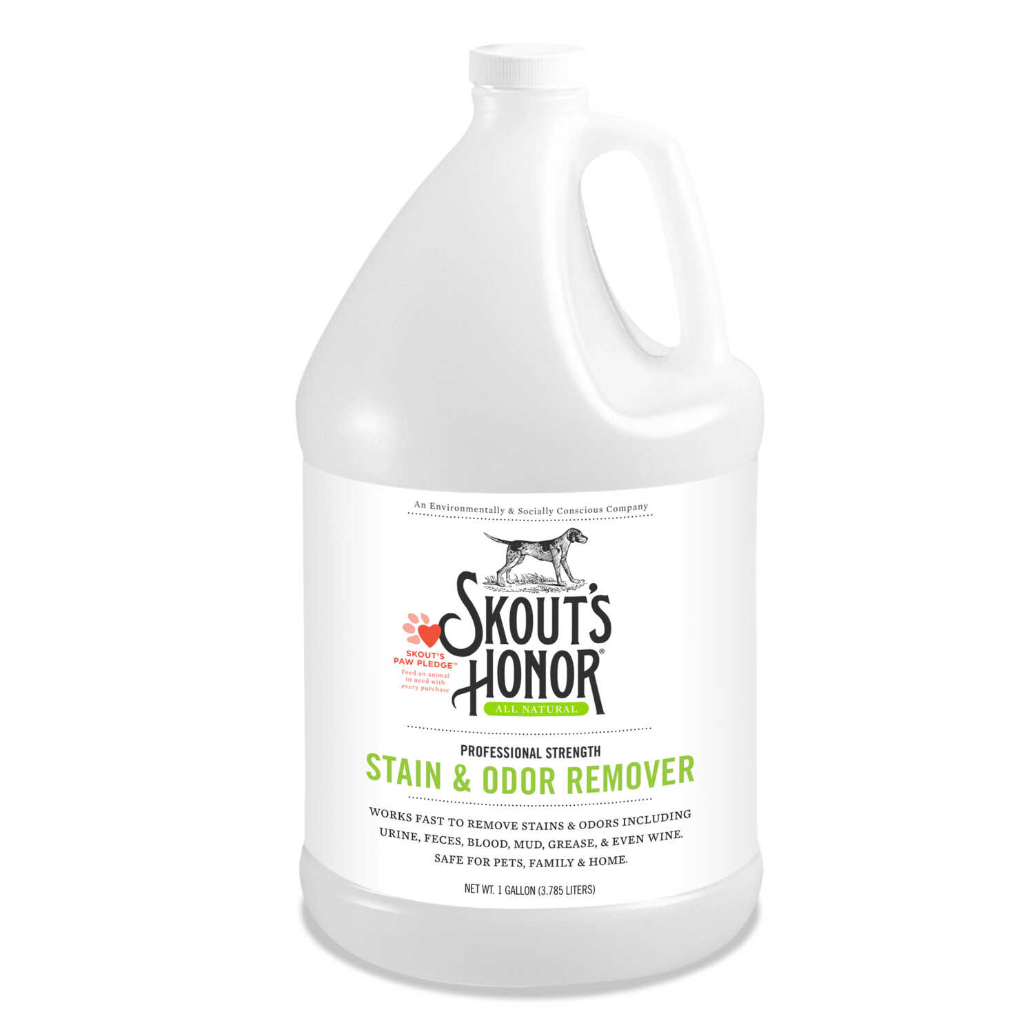Skout's Honor  Pet Stain and Odor Remover  1 gal.