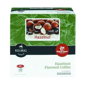 Keurig  Gloria Jeans  Hazelnut Medium Roast  Coffee K-Cups  18 pk