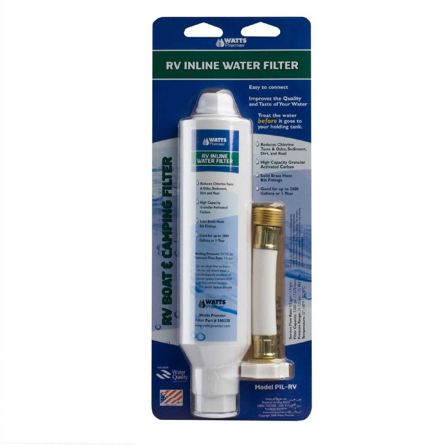 Watts  Premier  Water Filter  For RVs 2000 gal.