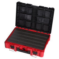 Milwaukee  PACKOUT  20 in. Plastic  Tool Case with Foam Insert  15 in. W x 6 in. H Black/Red