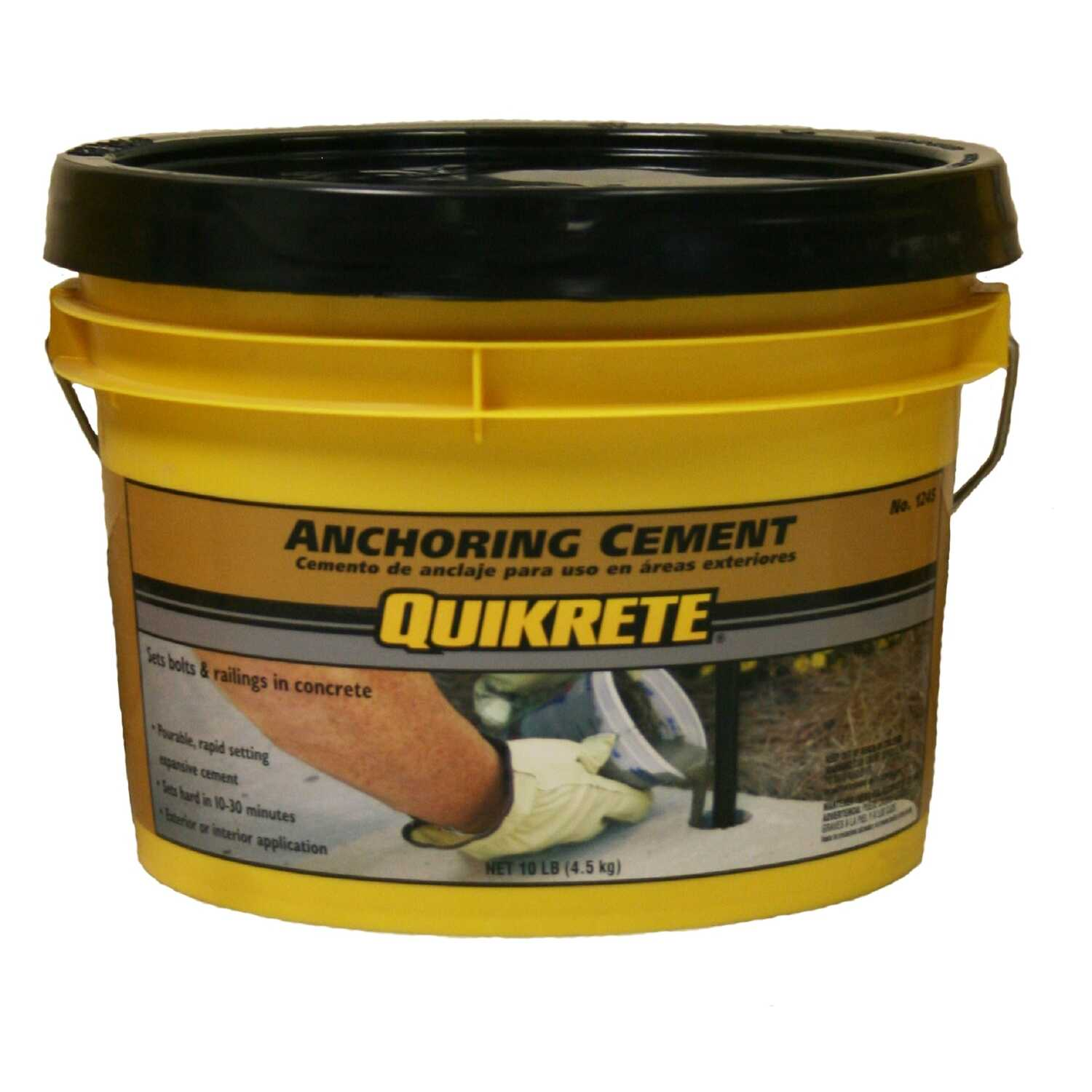 Quikrete  Anchoring Cement  10 lb.