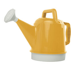 Bloem  Deluxe  Earthly Yellow  2.5 gal. Plastic  Watering Can
