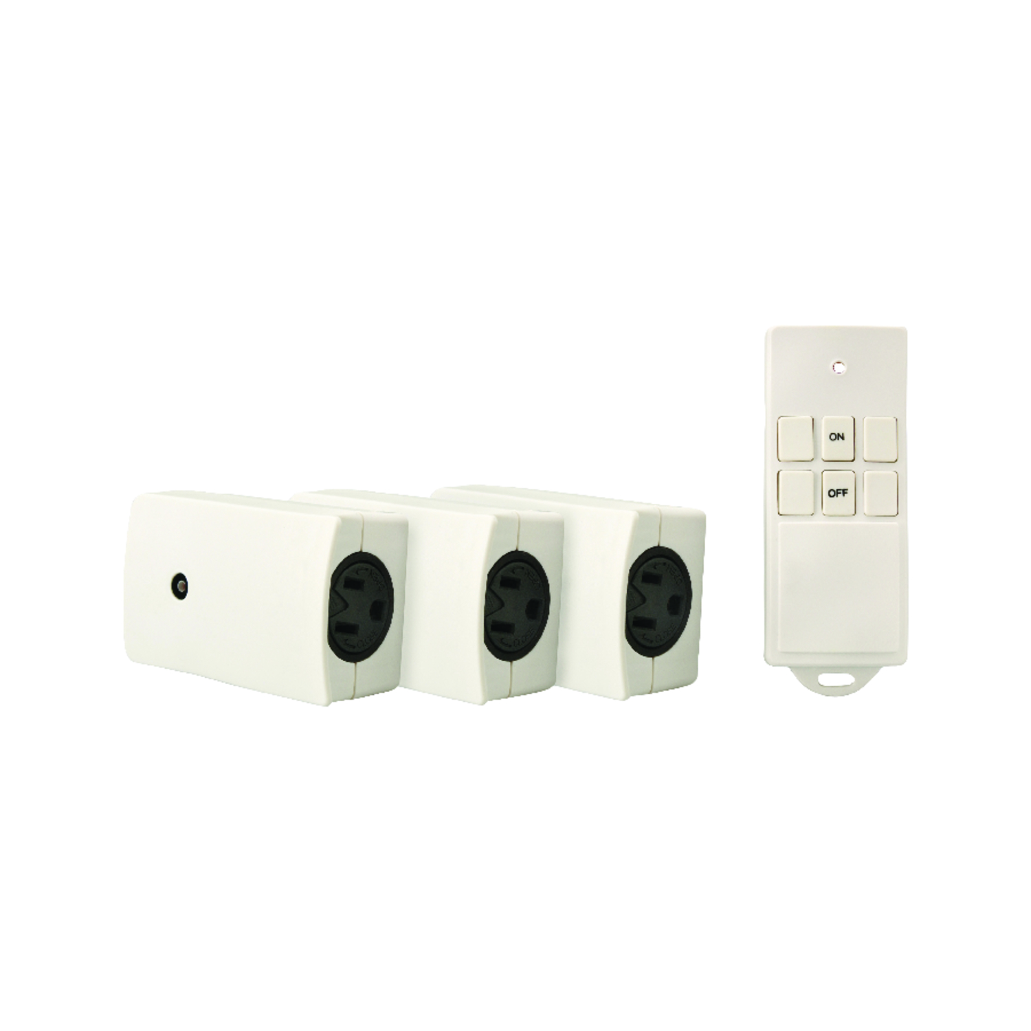 Woods  Wireless  White  3 pk 13 amps Appliance Switch