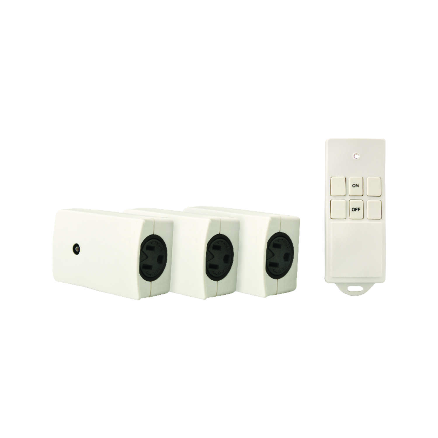 Woods  Wireless  Appliance Switch  White  3 pk