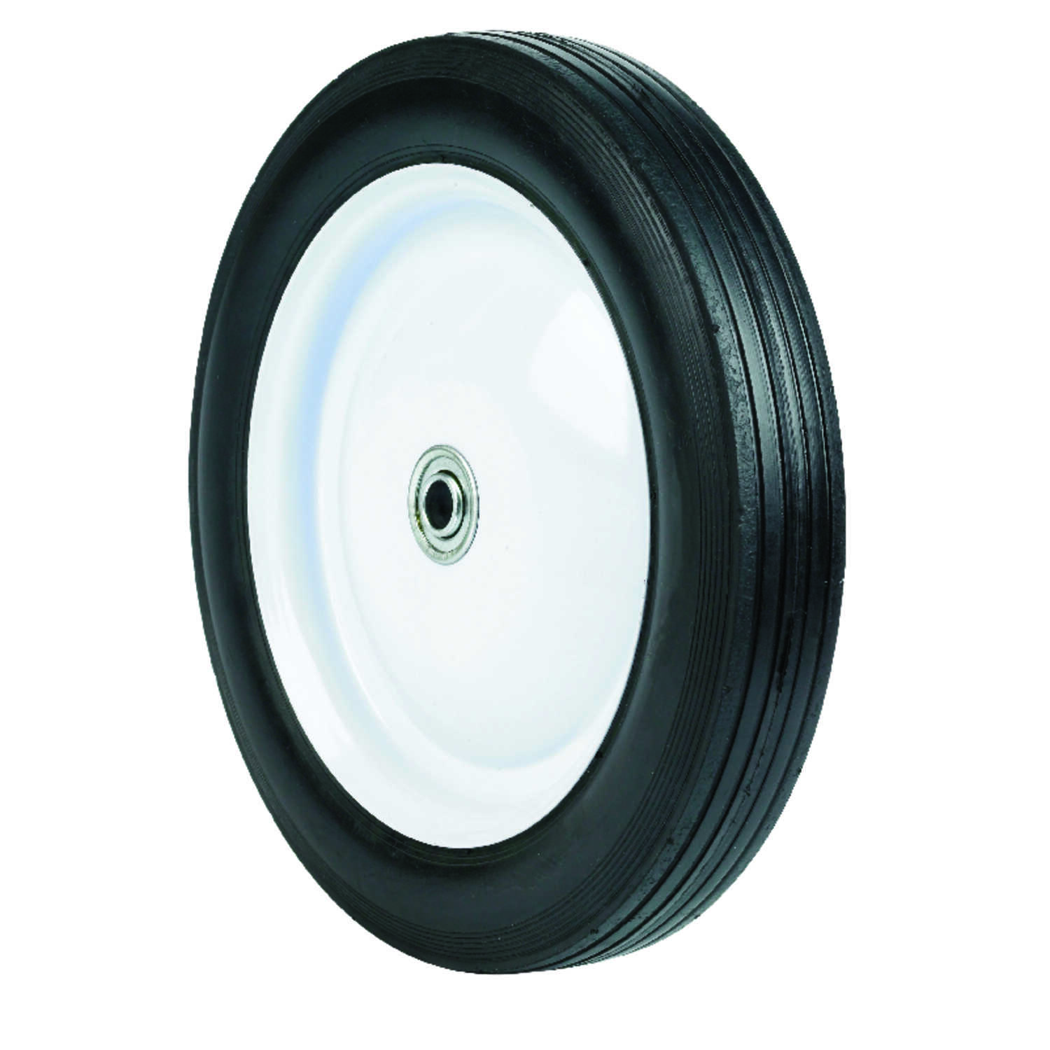 Arnold  1.75 in. W x 10 in. Dia. Steel  Lawn Mower Replacement Wheel  80 lb.