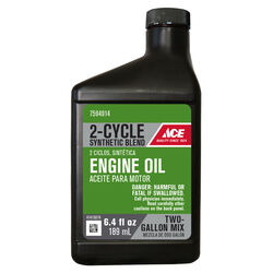 Ace  40:1  2 Cycle Engine  Synthetic  Motor Oil  6.4 oz.