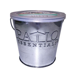 Patio Essentials  Galvanized  Citronella Candle  For Mosquitoes/Other Flying Insects 17 oz.