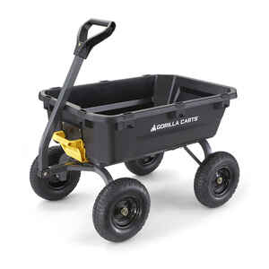 Gorilla Carts  Poly  Dump Cart  1200 lb. capacity
