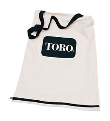 Toro  Bottom zipper replacement bag for most Toro Electric Blower/vacs  0 mph 0 CFM Leaf Bag