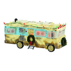 Department 56  Christmas Vacation Cousin Eddie's RV  Multicolored  Porcelain  Village House  1 each