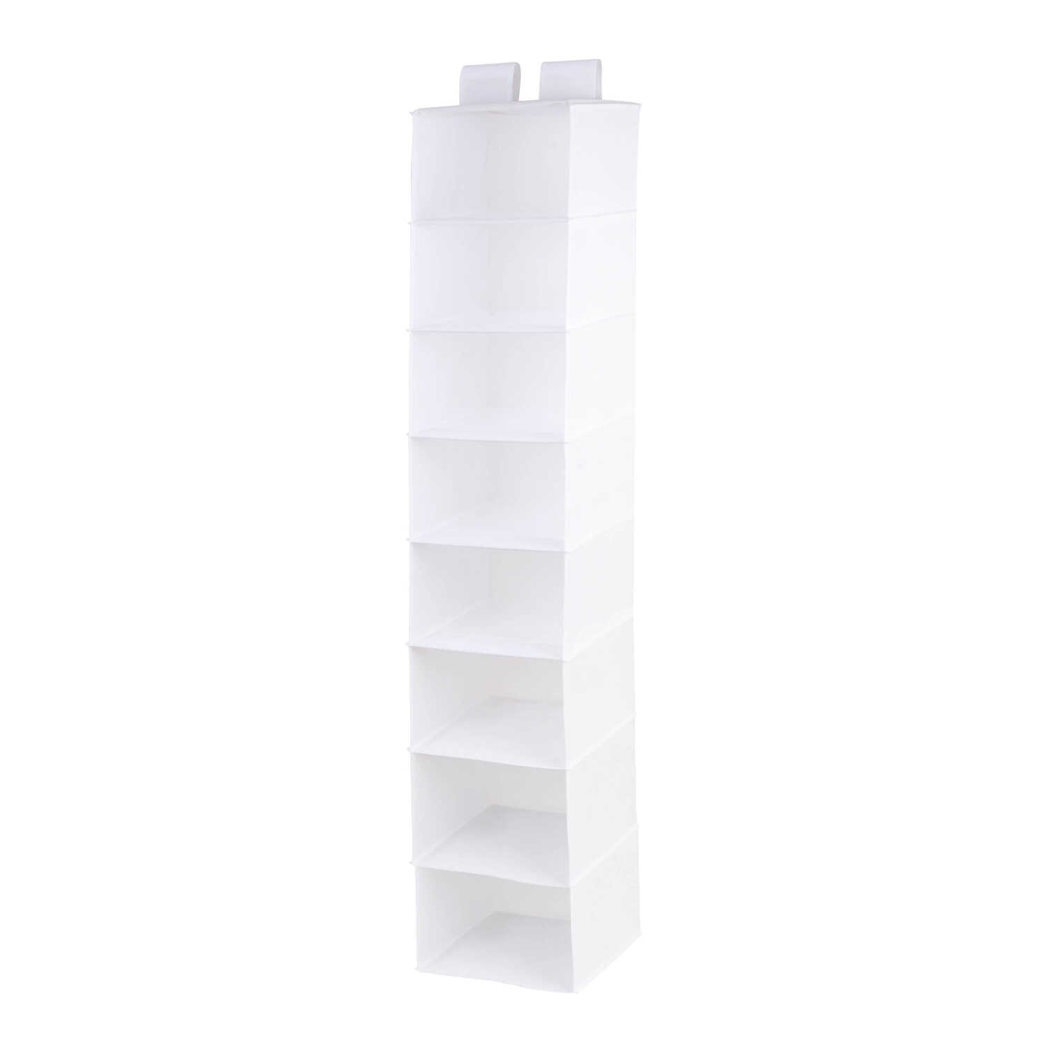 Honey Can Do  54 in. H x 12 in. W x 12 in. L Poly Cotton  Hanging Vertical Closet Organizer  1 pk