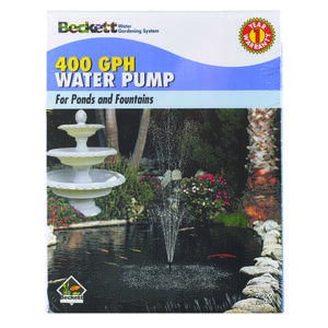 Beckett  0.041554960 hp Fountain Pump