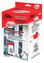 Fuller Brush  Full Crystal  No Scent Glass Cleaner Kit  4 oz. Powder