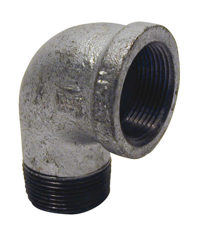 Mueller  3 in. FPT   x 3 in. Dia. FPT  Galvanized  Malleable Iron  Street Elbow