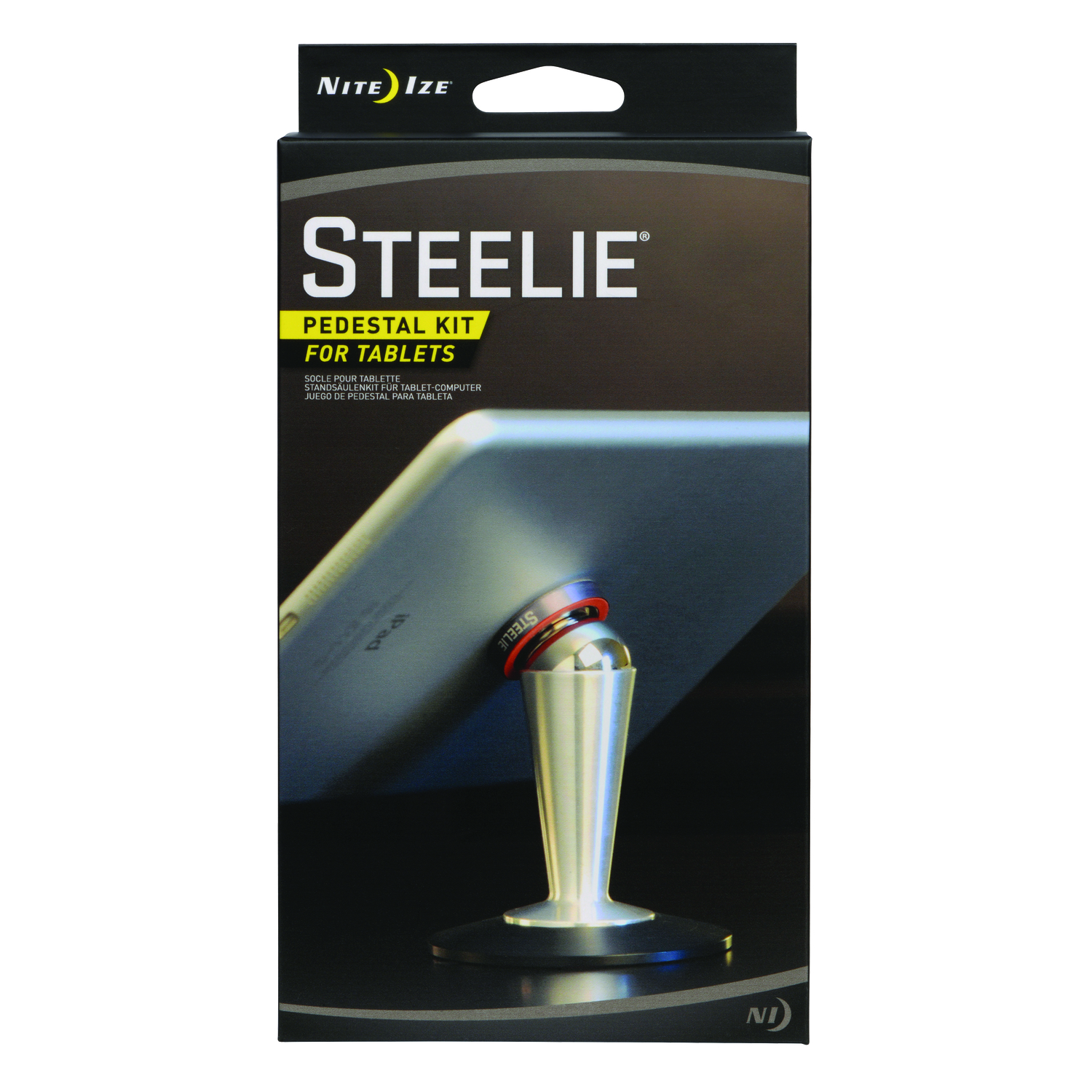 Nite Ize  Steelie  Silver  Table Stand  For Universal Universal