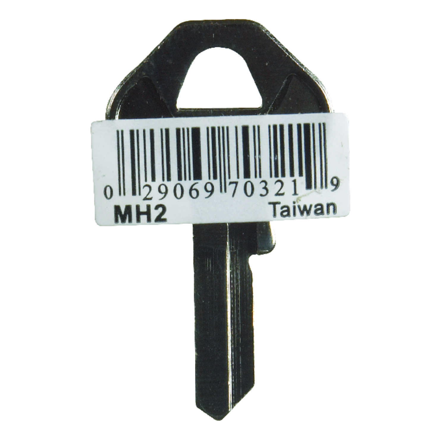Hy-Ko  Automotive  Key Blank  EZ# MH2  Single sided For Fits Master Padlocks