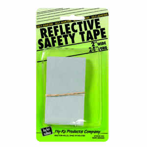 Hy-Ko  24 in. Rectangle  Silver  Reflective Safety Tape  5 pk