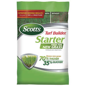 Scotts  Turf Builder  24-25-4  Starter Fertilizer  For New Grass