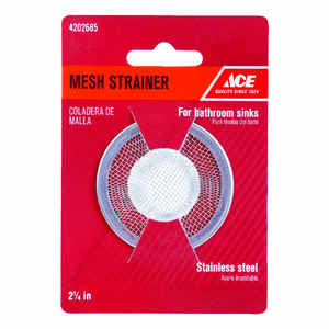 Ace  2-1/4 in. Dia. Mesh Strainer