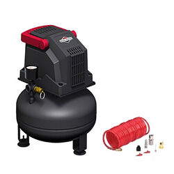 Briggs & Stratton 1 gal. Pancake Portable Air Compressor Kit 100 psi 0.2 hp