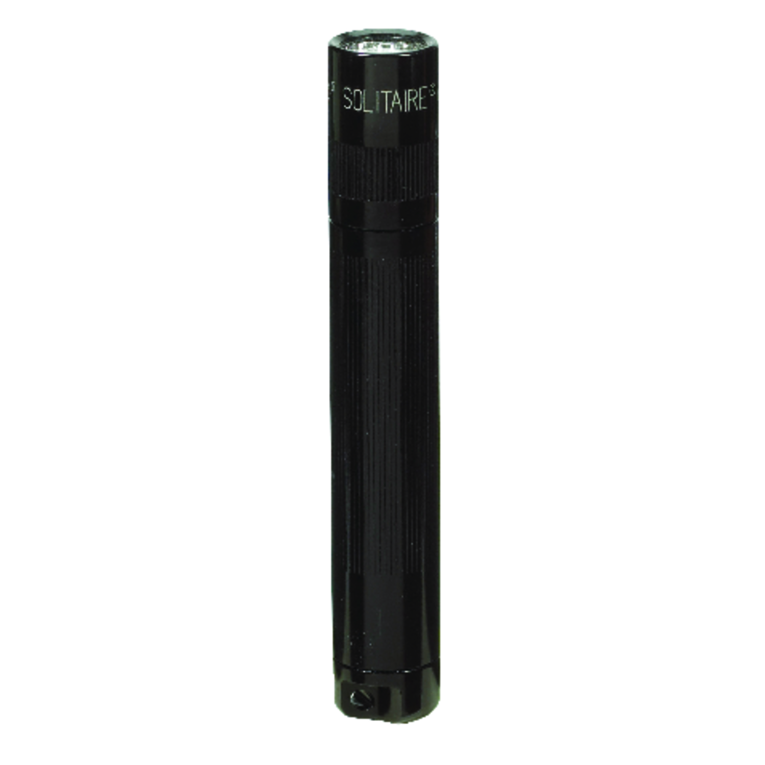 Maglite  Solitaire  2 lumens Black  Incandescent  Flashlight With Key Ring  AAA