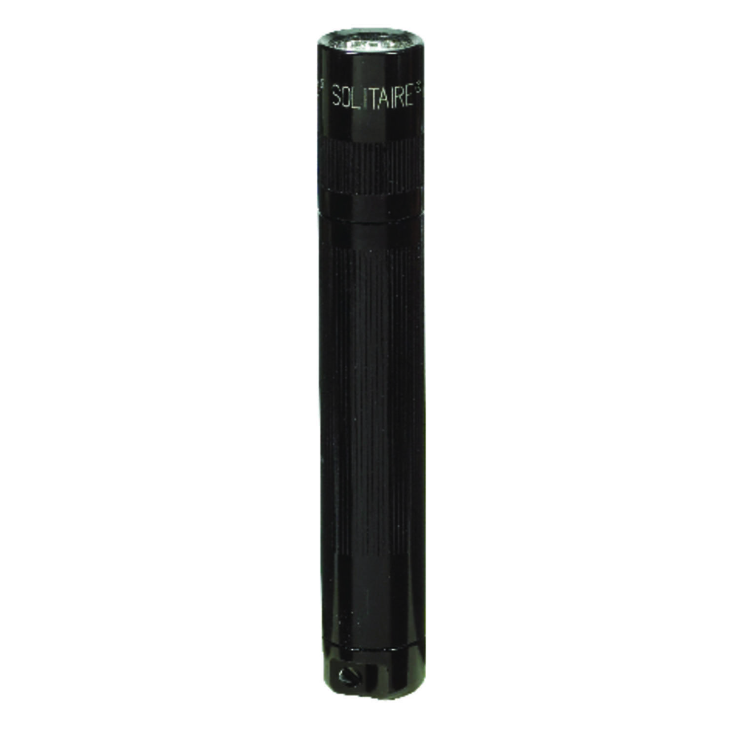 Maglite  Solitaire  2 lumens Black  Incandescent  Flashlight With Key Ring  AAA Battery