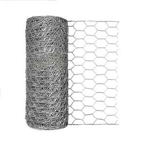 Garden Zone  12 in. H x 50 ft. L 20 Ga. Silver  Poultry Netting