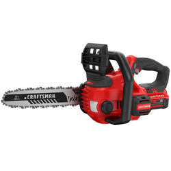 Craftsman  12 in. 20 volt Battery  Chainsaw  Kit (Battery & Charger)