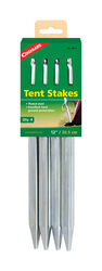 Coghlan's  Silver  Tent Stakes  12 in. L 4 pk