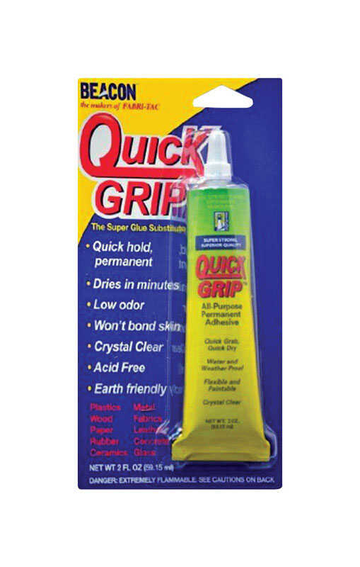 Beacon High Strength Quick Grip All Purpose Adhesive 2 oz. - Ace Hardware 601eaa34a0372