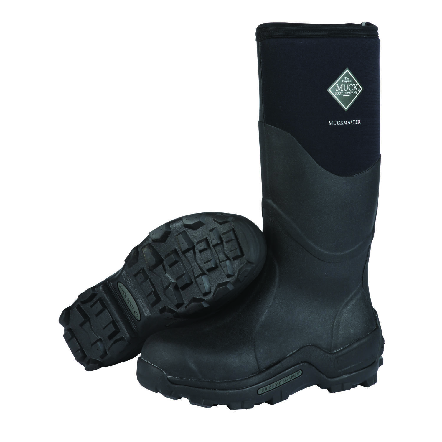The Original Muck Boot Company  Muckmaster  Men's  Boots  9 US  Black