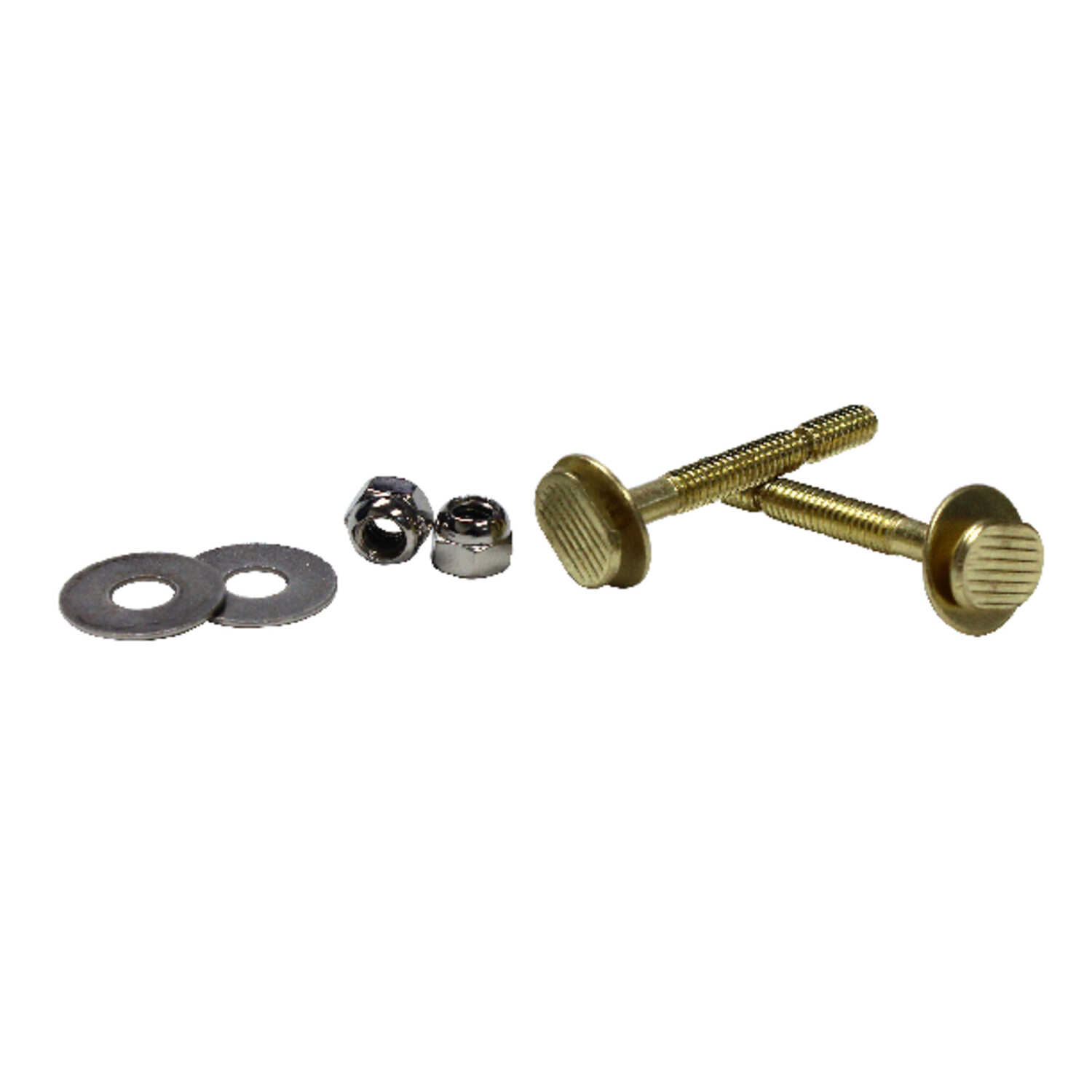 Ace  Toilet Bolt Set  Brass